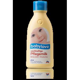 Молочко для тела Babylove с миндальным маслом 250мл