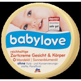 Крем для лица и тела Babylove с миндальным маслом 150мл