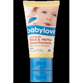BabyLove крем для лица защитный от ветра и холода 75мл для малышей