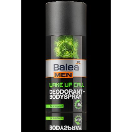 Balea men деоспрей мужской для тела wake up 150мл с цитрусовым ароматом