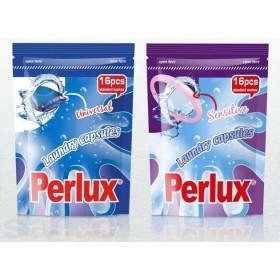 Стиральные капсулы Perlux универсальные 16шт=16стирок экопак