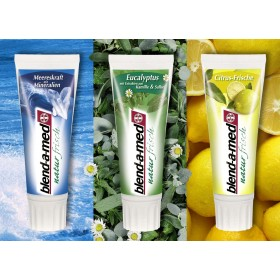 Blend-a-med зубная паста 75мл (цитрус, эвкалипт, морские минералы)