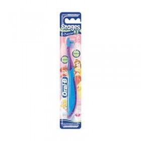 Детская зубная щетка Oral-B 5-7лет с поверхностью для чистки языка