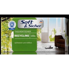 Soft&sicher салфетки бумажные в коробке 80шт с бальзамом