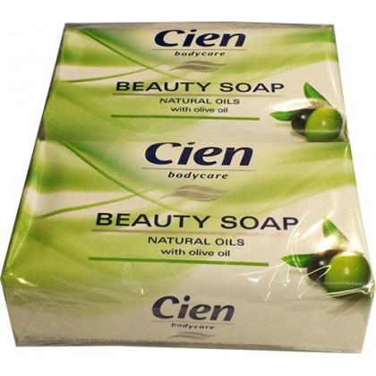 Мыло Cien с ароматом оливы 150г