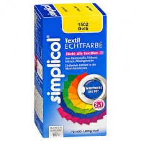 Краска Simplicol для смены цвета 150мл+500г закрепитель желтая
