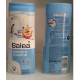 Balea гель для душа +шампунь без слез для детей Полярный мишка 300мл