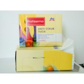 ДМ Профиссимо Anti-Staub Tuch 24шт(салфетки для вытирания пыли с микрогубкой)