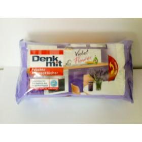 ДМ алцвектухе violet flower (влажные салфетки для кухни 50шт)