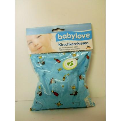Babylove подушка-грелка  с наполнителем из вишневых косточек 19*20см для малышей