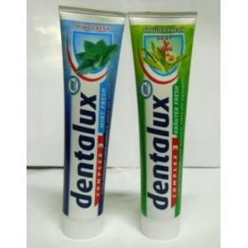 Зубная паста Dentalux с экстрактами лечебных трав: шалфея, ромашки и мяты 125мл