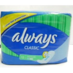 Гигиенические прокладки Always classic standart 12шт