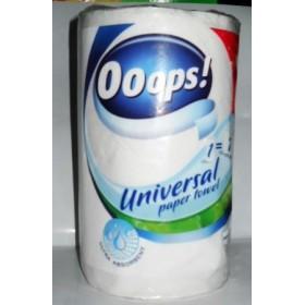 Полотенца кухон. Ooops! Universal 2-х сл 1штука (заменяет 7 рулонов)