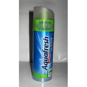 Аквафреш зубная паста - гель 100мл помпа 500... Великобритания