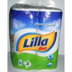 Полотенца кухонные Lilla дуо 2х слойная 2штуки в блоке
