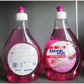 Дм шпульмиттел ультра 500мл гибискус + (жидкость для мытья посуды)