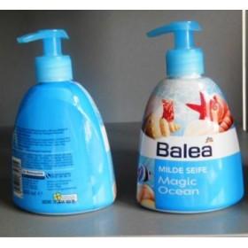 Balea жидкое мягкое мыло для рук с дозатором 300мл магия океана