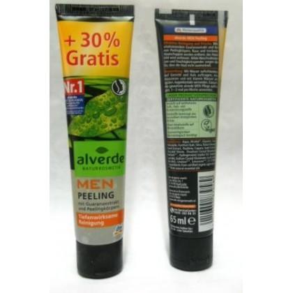 Alverde мужской пилинг 65мл с экстрактом гуараны