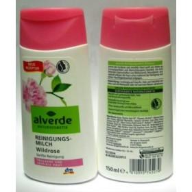 Алверде очищающее молочко с экстрактом дикой розы 150мл для сухой и чувст. кожи