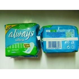Гигиенические прокладки Always ультра 12 стандарт