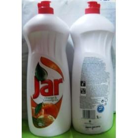 Jar  жидкость для мытья посуды 1л апельсин+лимон 5413..