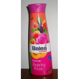 Балео янг гель для душа персик+роза 250мл