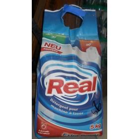 Порошок стир Real для белого белья 5кг экстра сила