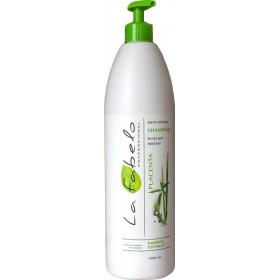 Шампунь La Fabelo Professional для сухих и окрашенных волос с экстрактом бамбука+ пшеничной плацентой 1000ml