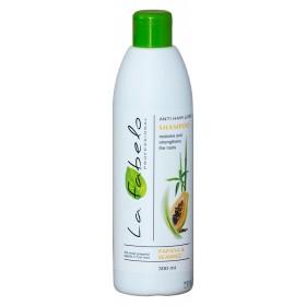 Шампунь La Fabelo Professional против выпадения волос с экстрактом морских водорослей, папаей, розмарином 300мл