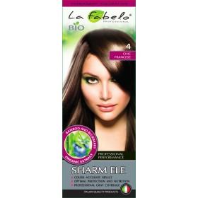 Крем-краска для волос био 50мл тон 4 La Fabelo Professional