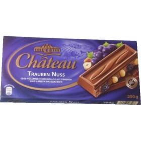 Шоколад Chateau 200гр 50%  feinherb nuss
